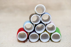 Bobbins thread royalty free stock images
