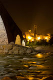 Bobbio - римский мост Стоковое фото RF