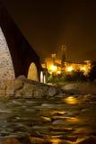 Bobbio - römische Brücke Lizenzfreies Stockfoto