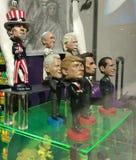 Bobble-επικεφαλής κούκλες, Ντόναλντ Τραμπ, θείος Σαμ, ΗΠΑ Στοκ εικόνες με δικαίωμα ελεύθερης χρήσης