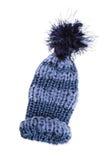 Bobble cap blue striped Stock Photos