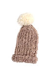 Bobble cap in brown Stock Images