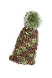 Bobble cap in camouflage Stock Photography