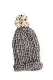 Bobble cap in grey Royalty Free Stock Images