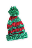 Bobble cap red and green striped Stock Photos