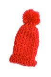 Bobble cap in red Stock Photo