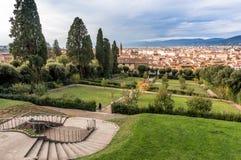 Bobble Garten in Florenz Lizenzfreie Stockfotos