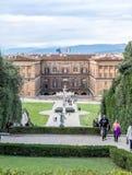 Bobble Garten in Florenz Lizenzfreie Stockbilder
