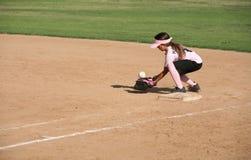 Bobbling ball player. Player bobbling the ball royalty free stock image