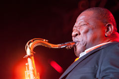 Bobby Blue Bland Band Royalty Free Stock Photo