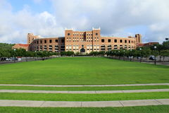 Bobby Bowden Field. At Doak S. Campbell Stadium at Florida State University in Tallahassee, Florida stock photography
