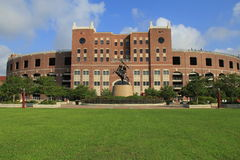 Bobby Bowden Field. At Doak S. Campbell Stadium at Florida State University in Tallahassee, Florida Royalty Free Stock Photos