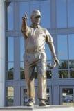 Bobby Bowden Statue en FSU Fotos de archivo libres de regalías
