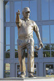 Bobby Bowden Statue på FSU Royaltyfria Foton