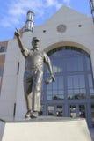 Bobby Bowden Statue på FSU Fotografering för Bildbyråer