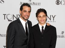 Bobby Cannavale and Jacob Connavale. Actors Bobby Cannavale and his son, Jacob Cannavale, arrive on the red carpet for the 65th Annual Tony Awards at the Beacon Stock Photo