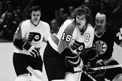 Bobby Clarke, Philadelphia Flyers Royalty Free Stock Images