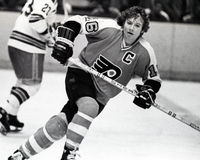 Bobby Clarke, Philadelphia Flyers Stock Photo