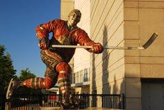 Bobby Hull op het Verenigde Centrum stock afbeeldingen