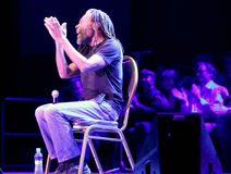 Bobby McFerrin on JazzFestBrno 2011 Royalty Free Stock Photo