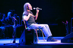 Bobby McFerrin on JazzFestBrno 2011 Royalty Free Stock Photos