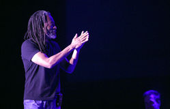 Bobby McFerrin on JazzFestBrno 2011 Royalty Free Stock Images