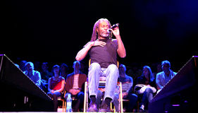 Bobby McFerrin on JazzFestBrno 2011 Stock Images