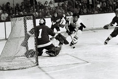Bobby Orr Action Shot Stock Foto's