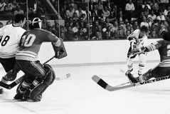 Bobby Orr, Boston Bruins Lizenzfreie Stockfotos