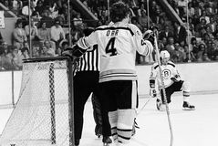 Bobby Orr, Boston Bruins Stockfoto
