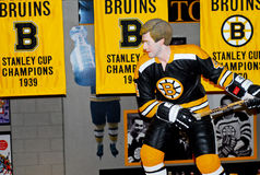 Bobby Orr Carved Statue Stock Photography