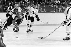 Bobby Orr and Fred Stanfield, Boston Bruins Royalty Free Stock Photography