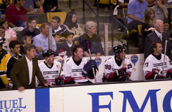 Bobby Orr. Hockey legend Bobby Orr coaches the white team at the Dennis Leary Firefighter Fund Charity Game at The Fleet Center, Boston, MA. (2003 ) (Image taken stock photo