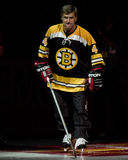 Bobby Orr, pre-game skate. Royalty Free Stock Photos
