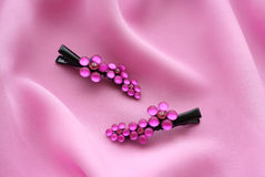 Bobby pin Royalty Free Stock Images