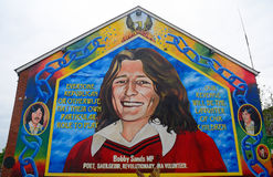 Bobby Sands, Belfast, Northern Ireland stock photography