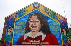 Bobby Sands, Belfast, Northern Ireland. Bobby Sands in Belfast, Northern Ireland Stock Photography