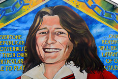Bobby Sands, Belfast, Northern Ireland royalty free stock image
