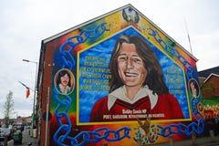 Bobby Sands, Belfast, Northern Ireland. Bobby Sands in Belfast, Northern Ireland Stock Image
