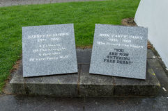 Bobby Sands Monument in Derry Royalty Free Stock Image