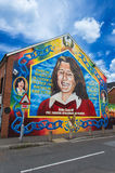 Bobby Sands Mural Immagine Stock
