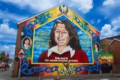 Bobby sands muurschildering op de sinn fein die belfast for Bobby sands mural