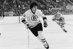 Bobby Schmautz, Boston Bruins Imagem de Stock Royalty Free