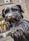Bobby Statue in Edinburgh. UK, Scotland, Lothian, Edinburgh, Corner of Candlemaker Row and George IV Bridge, Statue of Bobby Stock Photo