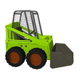Bobcat. 3d render of bobcat machine Stock Image