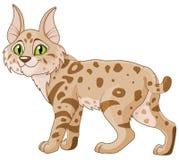 bobcat royaltyfri illustrationer
