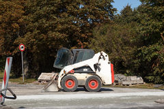 Bobcat excavator Royalty Free Stock Photography
