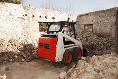 Bobcat Skid Steer Loader Royalty Free Stock Photos