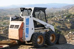 Bobcat Skid Steer Tractor Farm Equipment Stock Photography