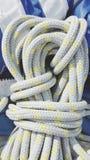 Bobina da corda de nylon imagem de stock